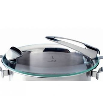 Naparovacia vložka do panvice WOK – nerez, 35 cm – Original profi collection Fissler - Fissler